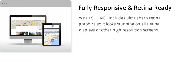 wpresidence retina and responsive display
