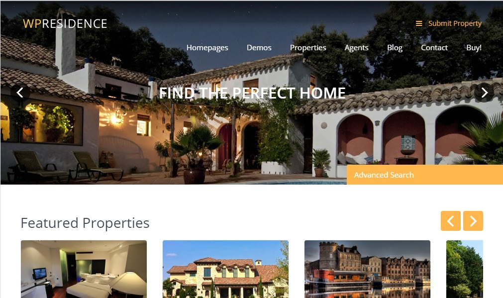 Demo5-WP Residence Theme