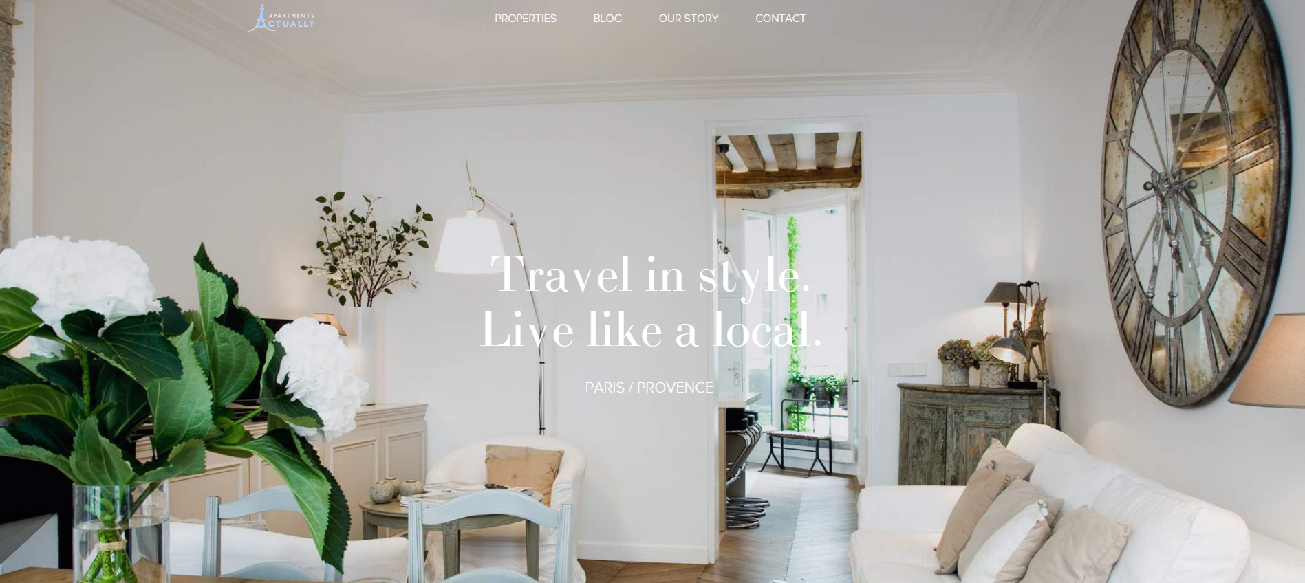 Nice site with WP Rentals theme