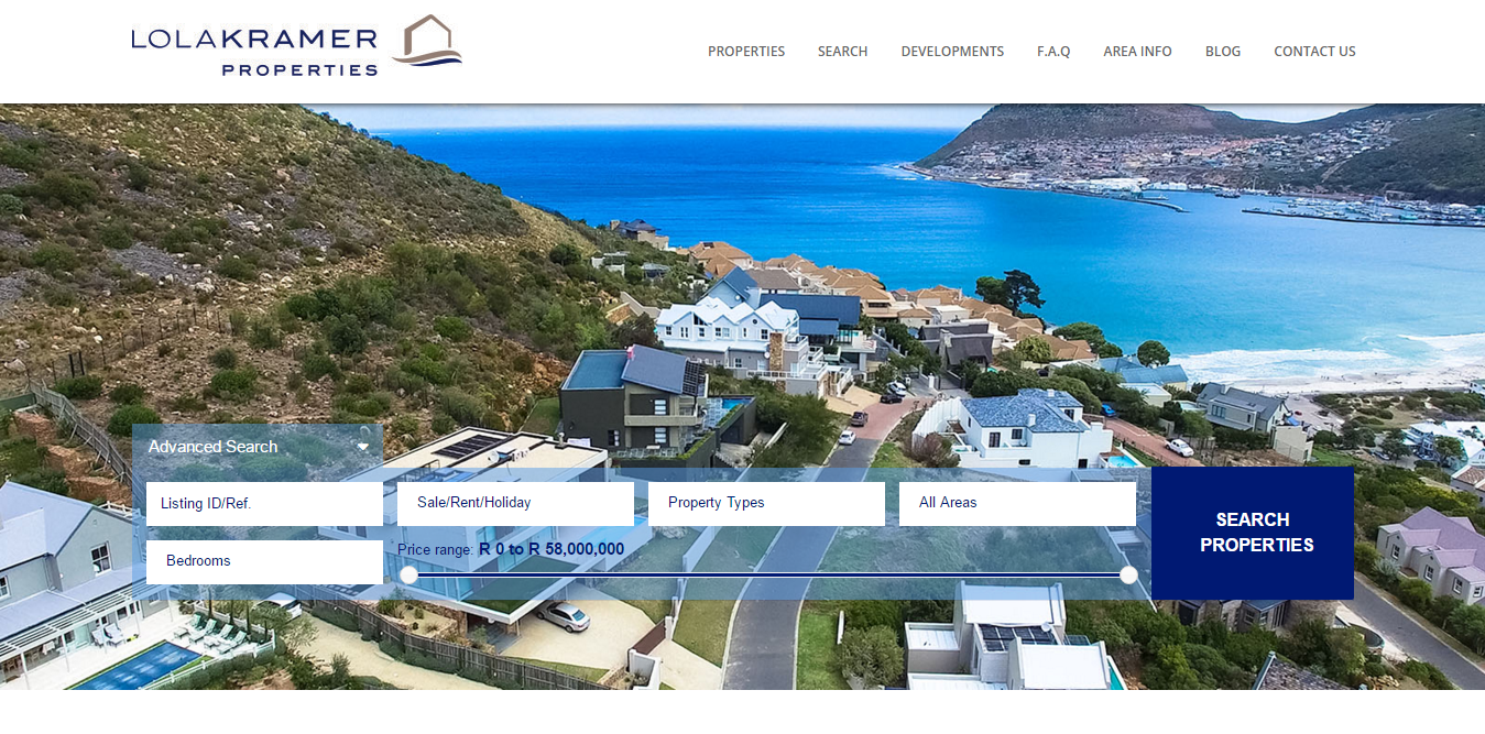 nice site with WP Residence