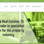 Wp Estate Theme used on http://africarealestates.tv/