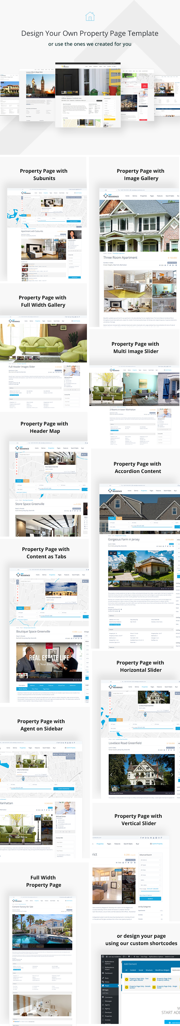Residence Real Estate WordPress Theme by WpEstate