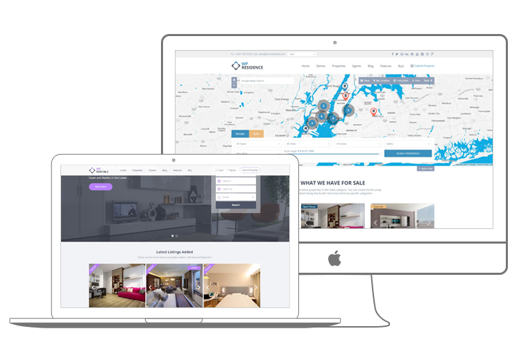 Real Estate WordPress Themes by WpEstate