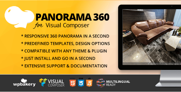 PANORAMA 360 ADDON FOR WPBAKERY