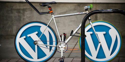 WordPress bike