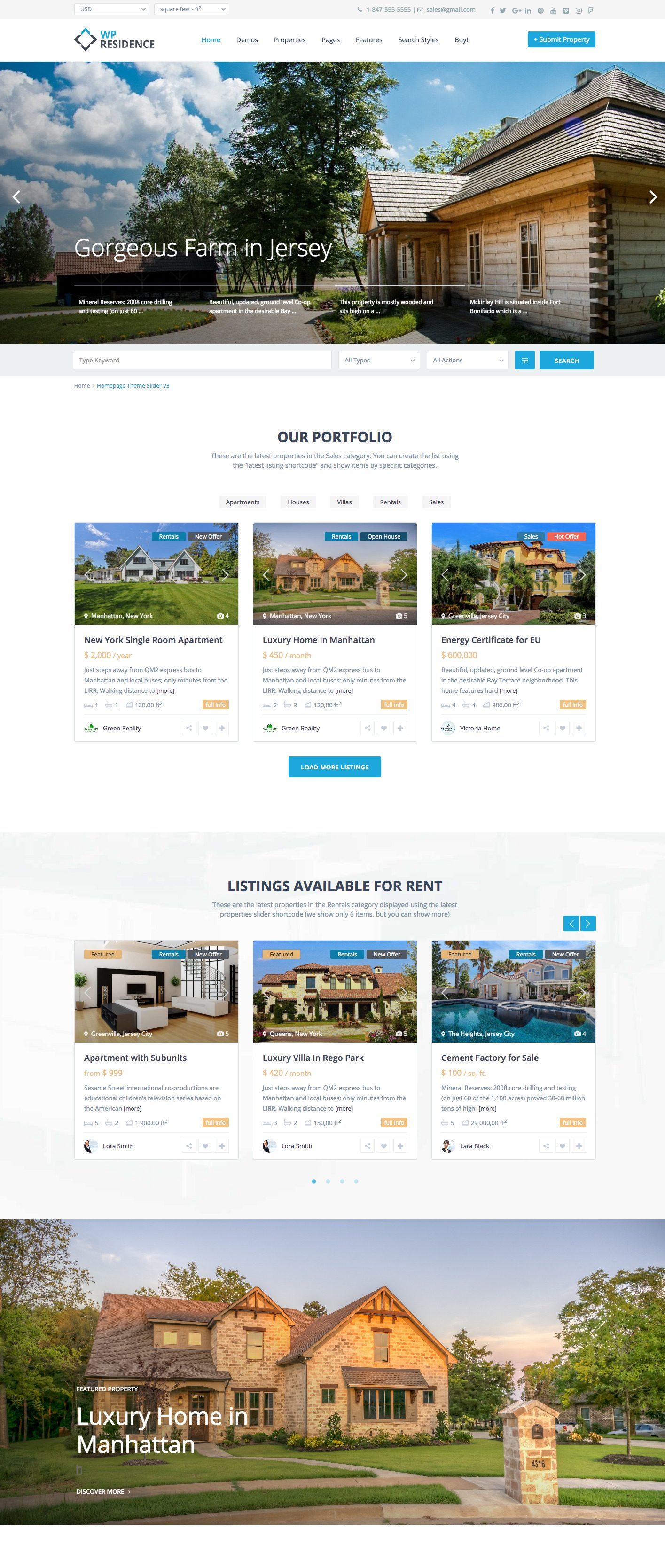 HOW TO MAKE YOUR REAL ESTATE HOME PAGE INVITING