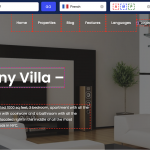 How to create a multi-language website with WP Rentals theme and Weglot