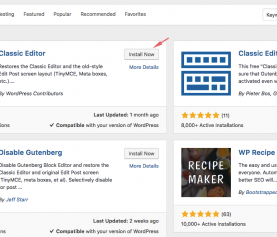 How to disable Gutenberg Editor starting WordPress 5.0
